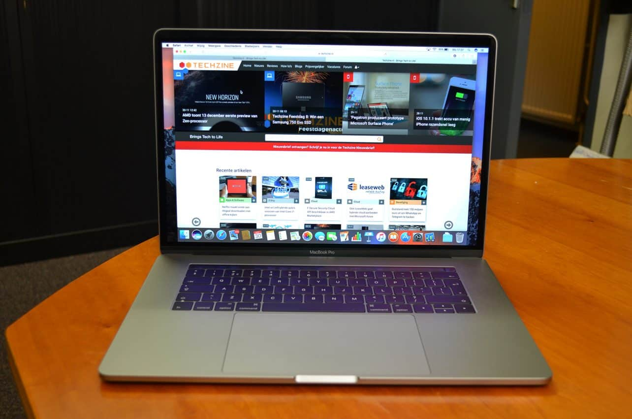 Review: Apple MacBook Pro 15 inch met Touch Bar