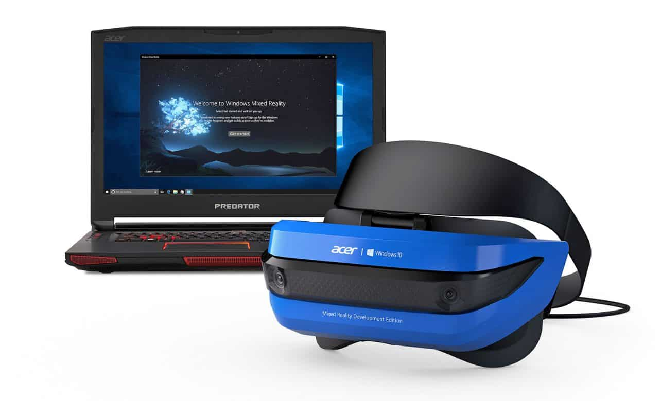 Eerste Windows mixed reality headsets nu te koop