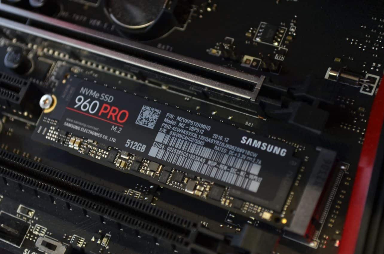 Review: Samsung 960 Pro SSD