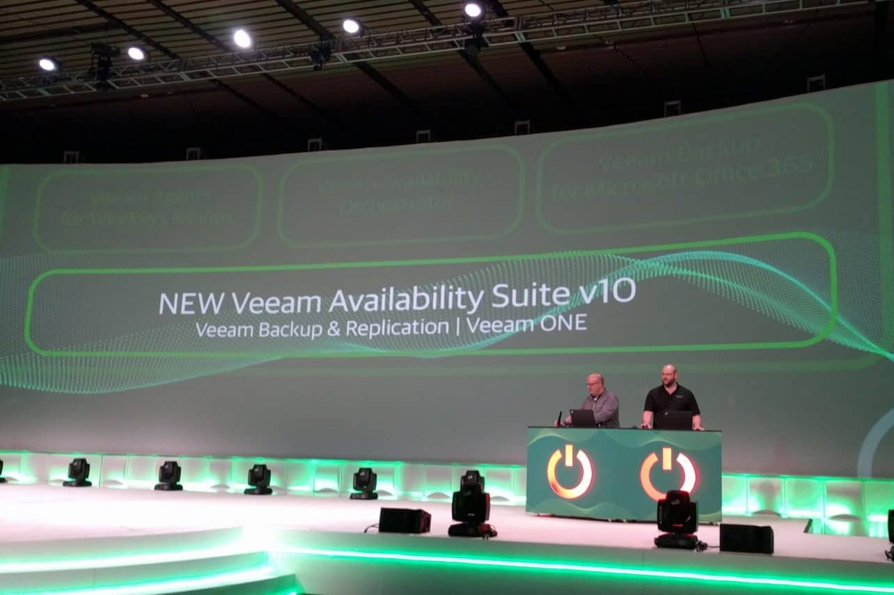 Recovery time van data nog slechts enkele seconden in Veeam Availability Suite v10