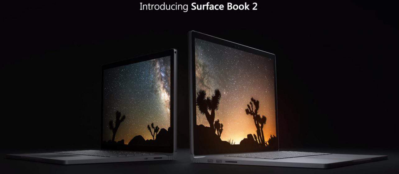 Microsoft onthult Surface Book 2 voor release in november