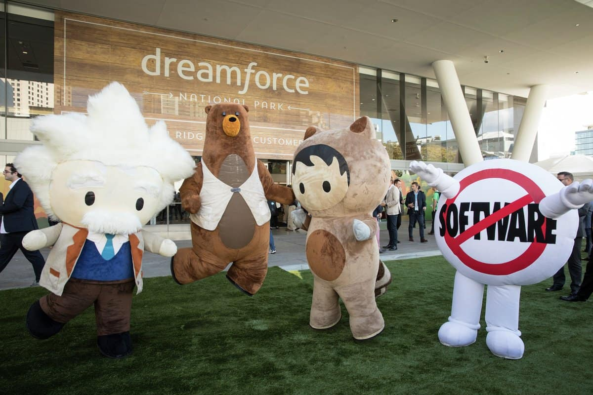 Salesforce en het trucje dat Dreamforce heet
