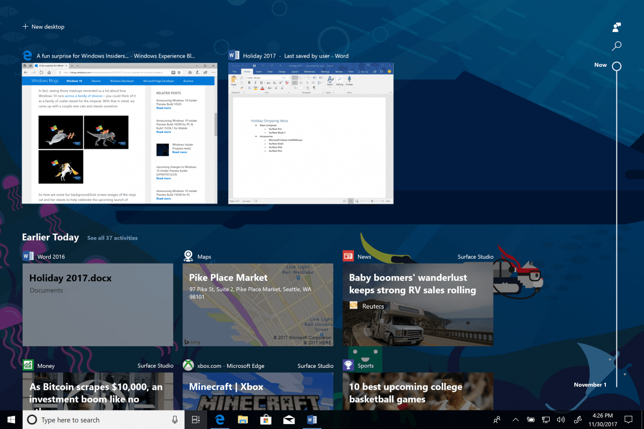 Windows 10 Spring Creators Update komt in april naar je computer