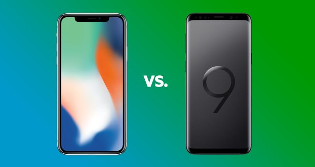 Battle of the titans: Samsung Galaxy S9 vs. Apple iPhone X
