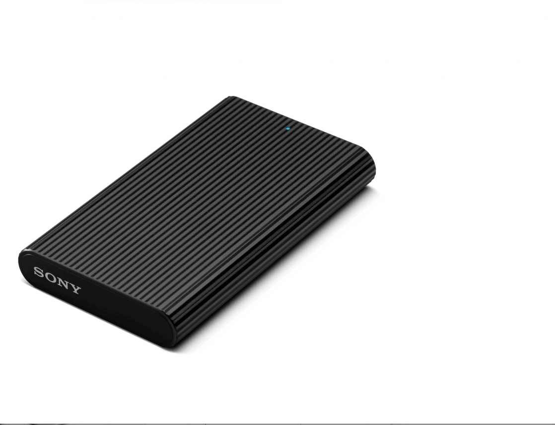Sony kondigt externe Solid State Drive SL-E aan
