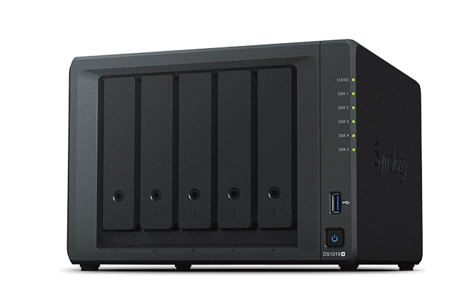 Synology DS1019+ review: een versnelling hoger