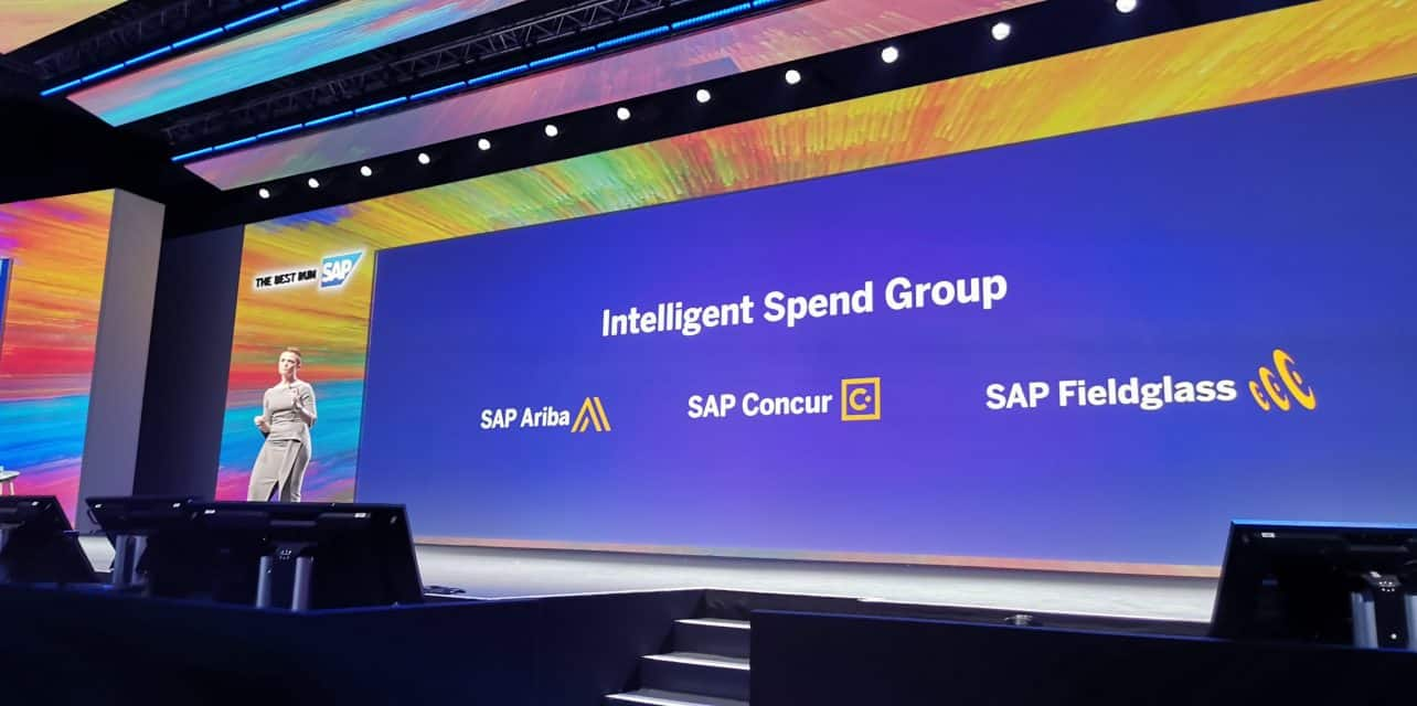 De toekomst van Ariba, Fieldglass en Concur ligt in de SAP Intelligent Spend Group