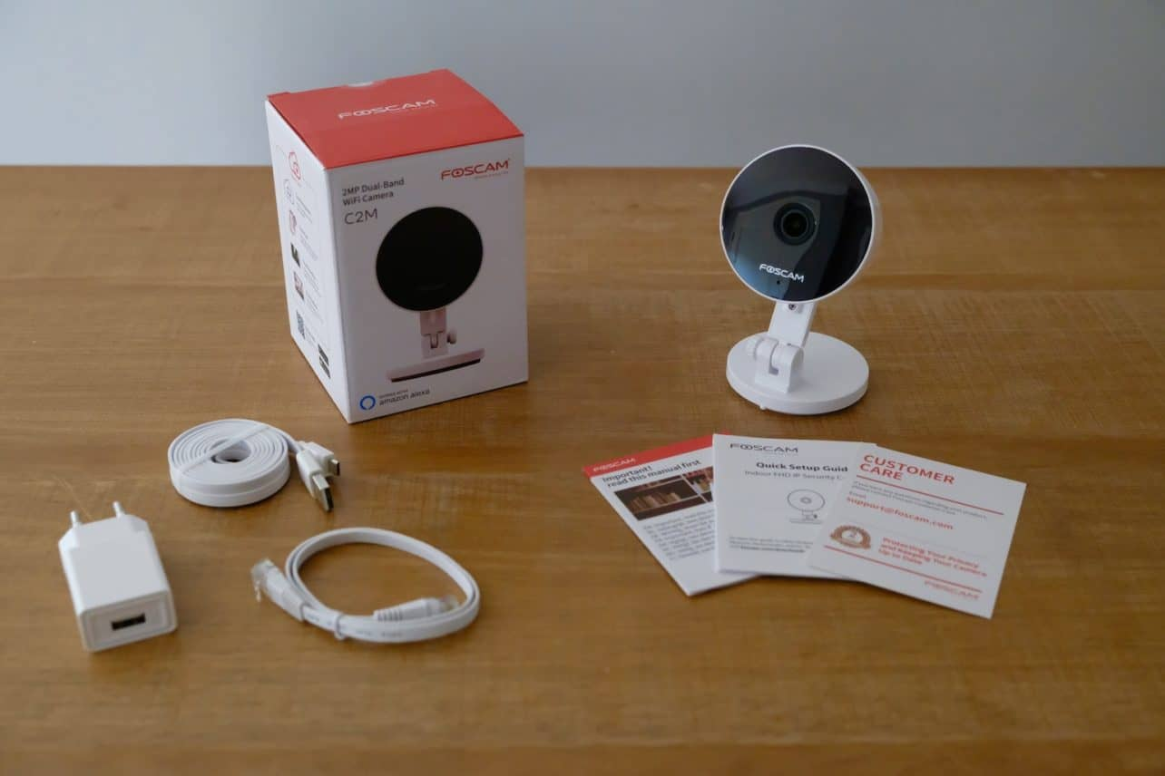 Review: Foscam C2M – FHD smart home camera met persoonsherkenning