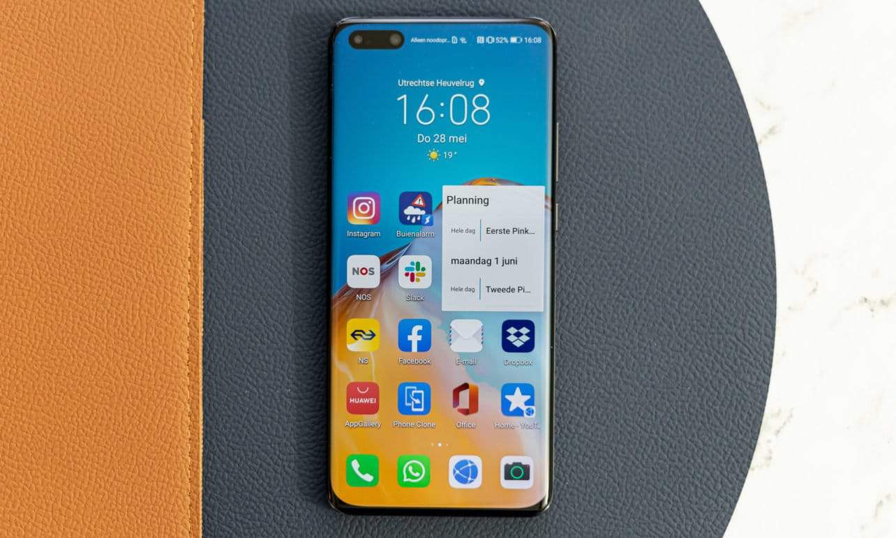 Huawei P40 Pro review voorkant