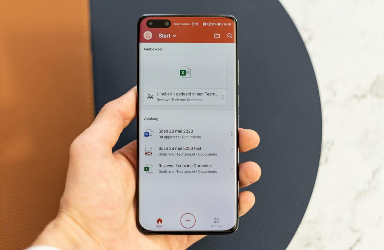 Huawei P40 Pro review Office