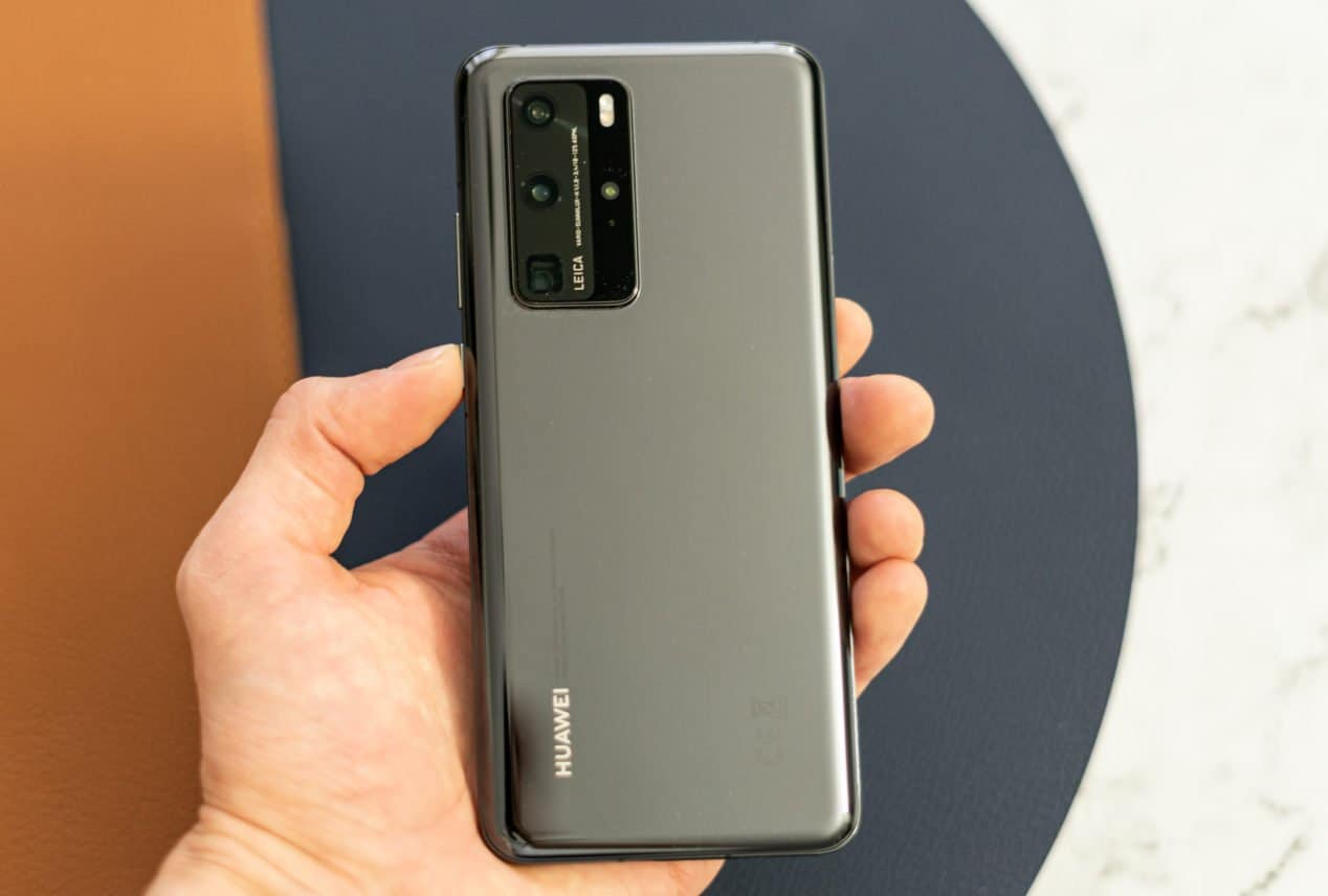 Huawei P40 Pro review achterkant