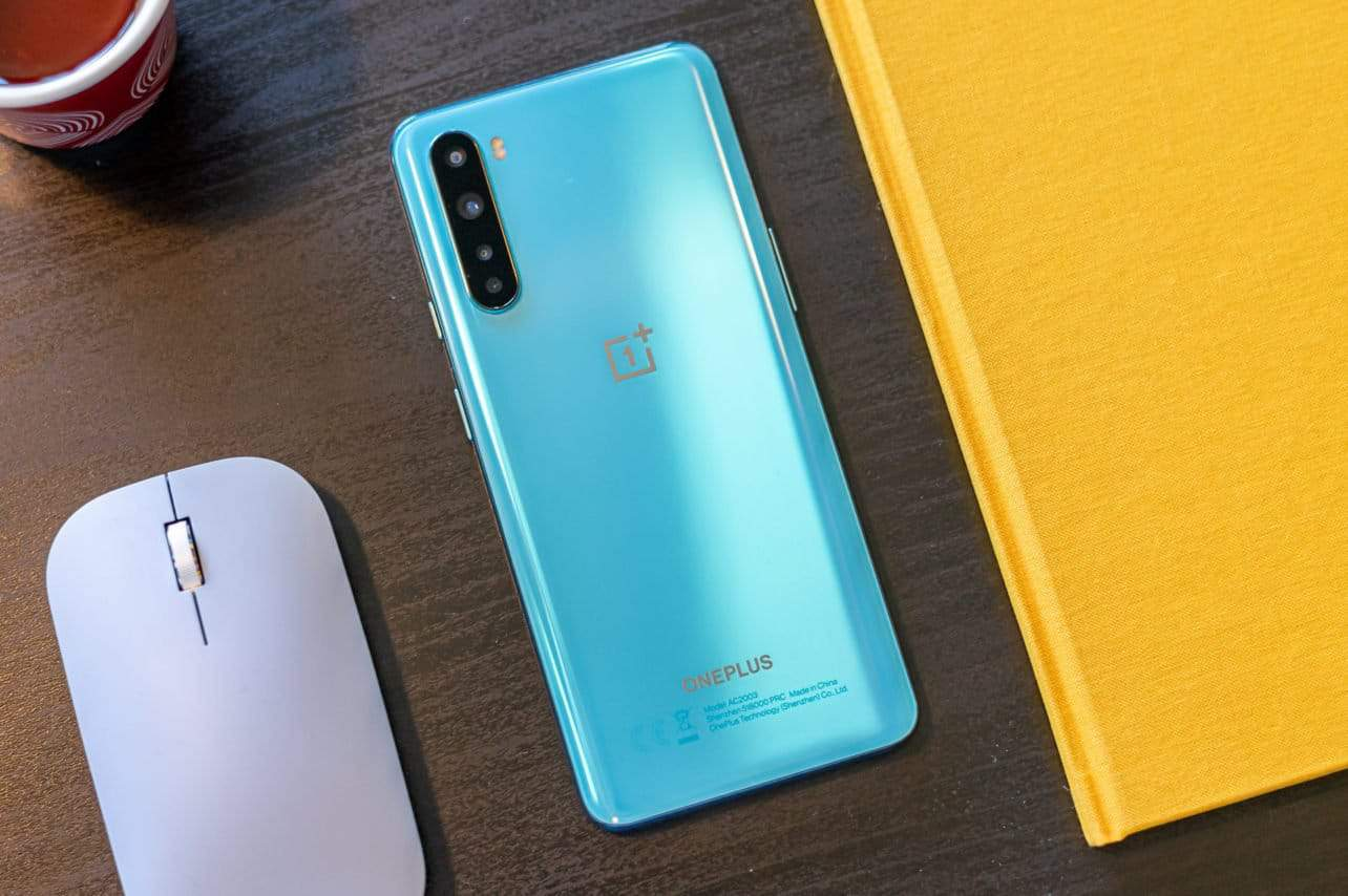 OnePlus Nord review achterkant