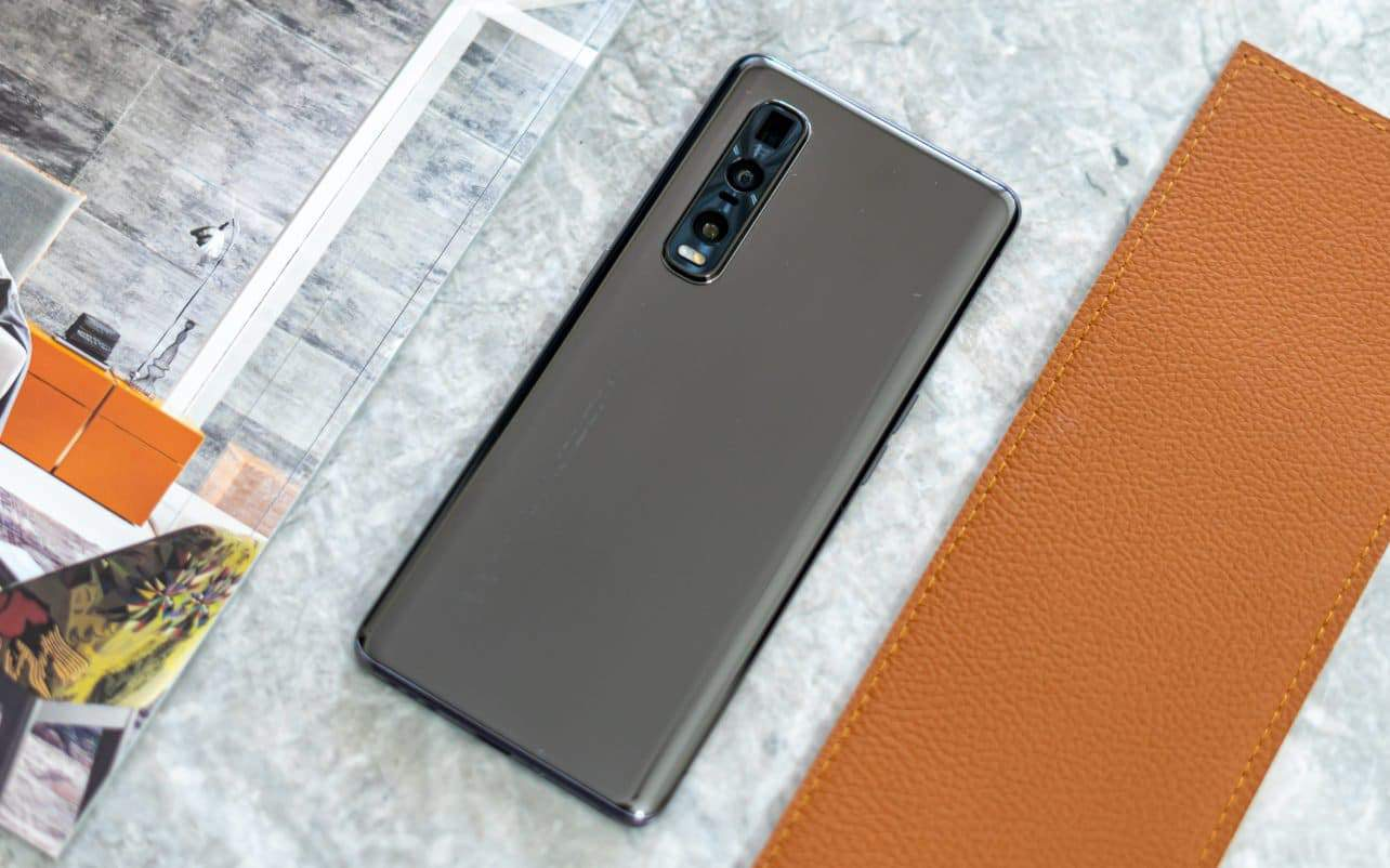 Oppo Find X2 Pro review achterkant