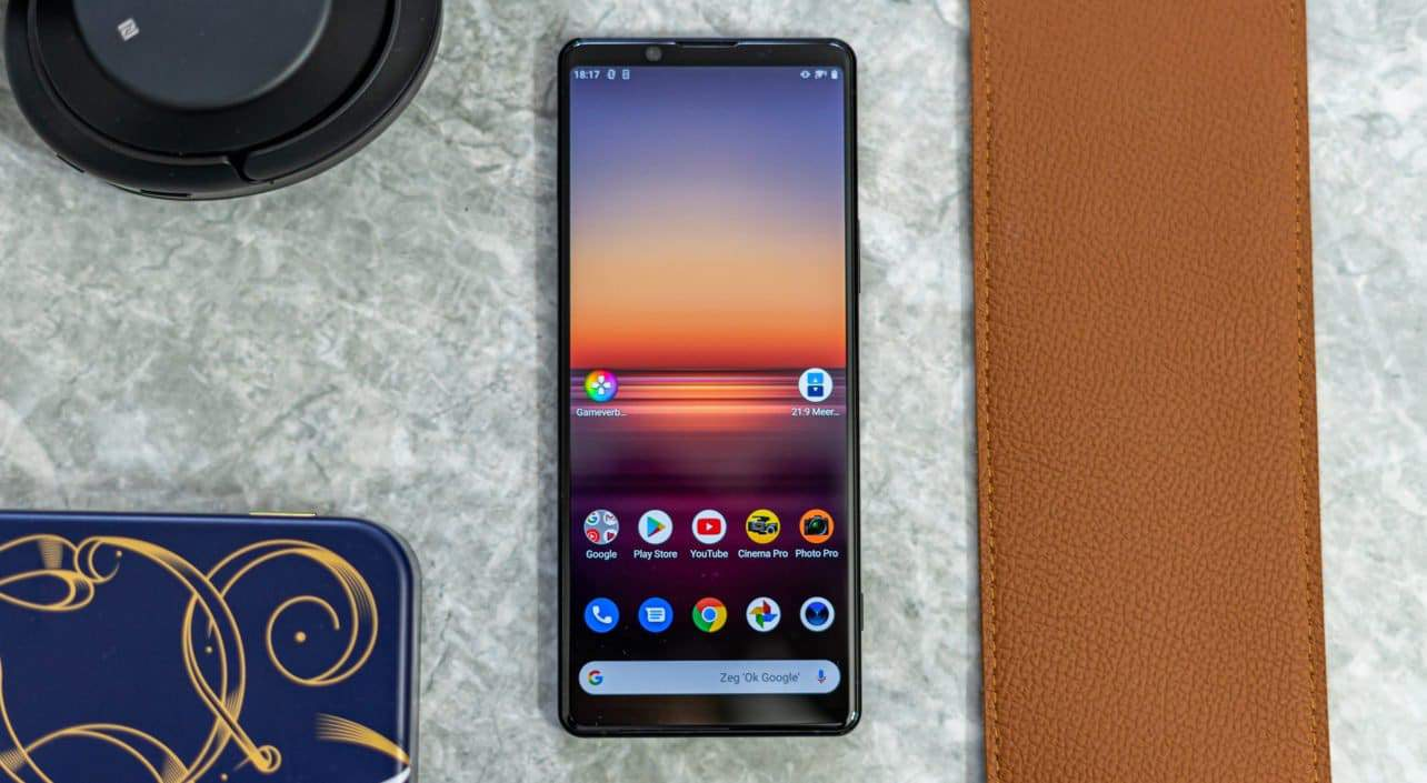Sony Xperia 1 II review design