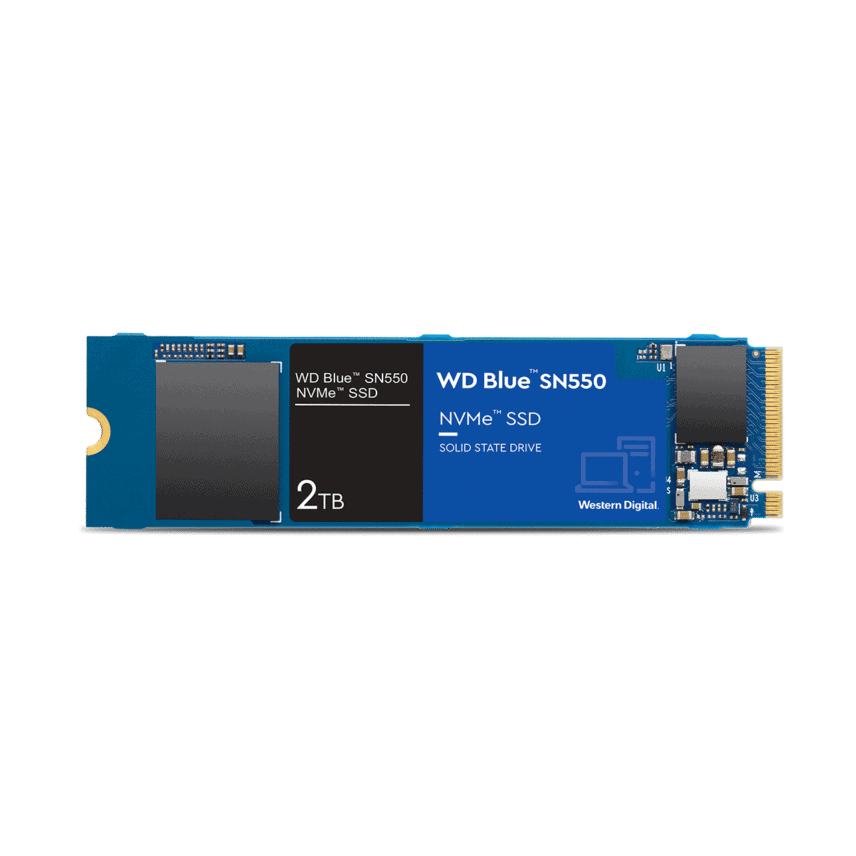 WD voegt 2TB-ssd toe aan Blue-lineup