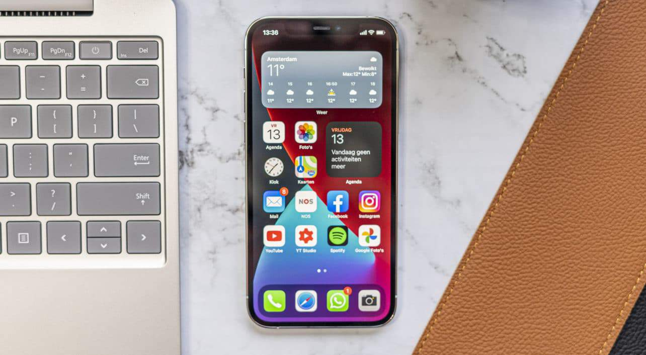 Apple iPhone 12 Pro review voorkant