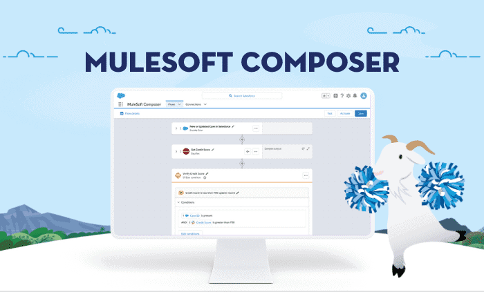 Iedereen kan automatiseren met MuleSoft Composer for Salesforce