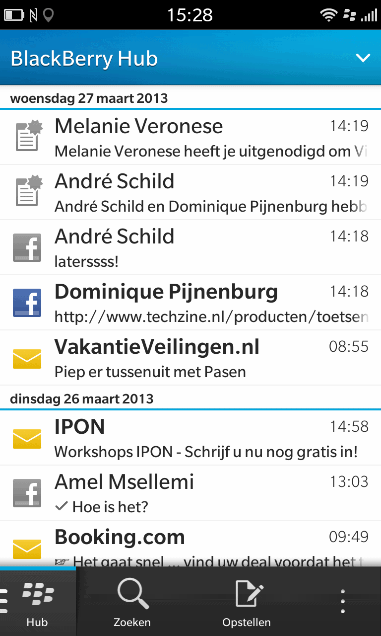 Review: BlackBerry 10 - Techzine nl