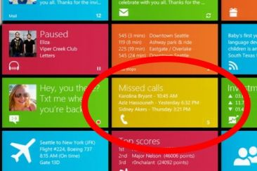 Misschien smartphone integratie in Windows 8
