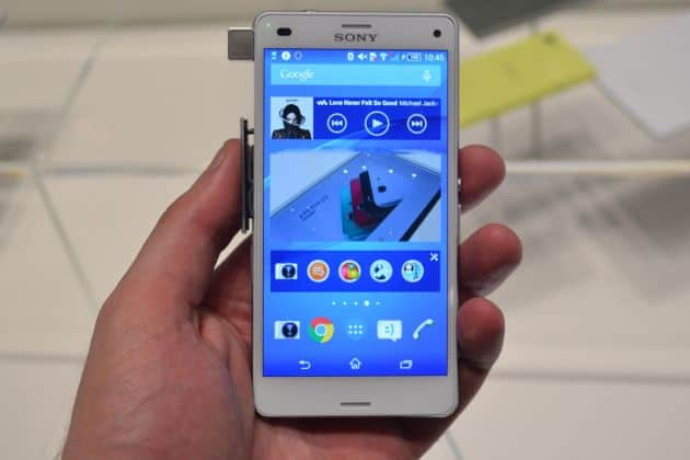 Review: Hands-on: Sony Xperia Z3 Compact