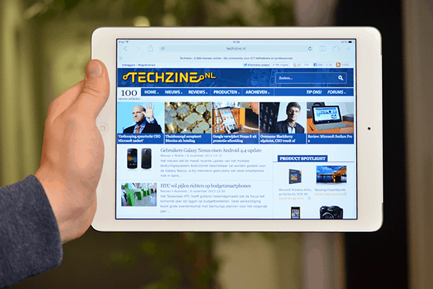 Review: Apple iPad Air: Broodnodige stappen