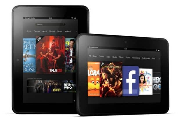 Naast 8.9 inch Kindle Fire HD ook 7-inch variant