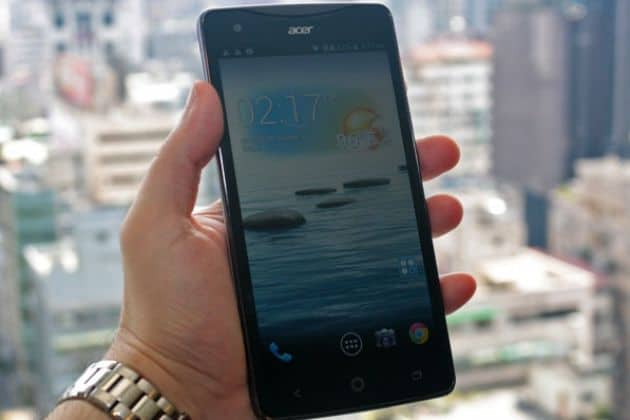 Acer toont 5,7 inch Liquid S1 phablet