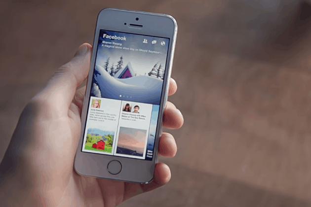 Facebook introduceert nieuwsapplicatie Paper in VS